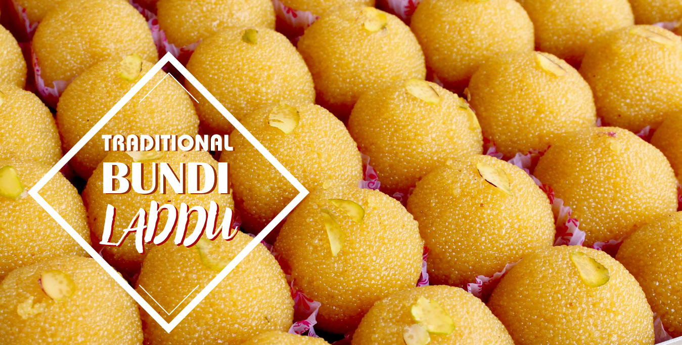 Traditional Bundi Laddu